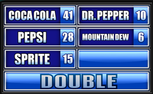 Name A Soft Drink Family Feud